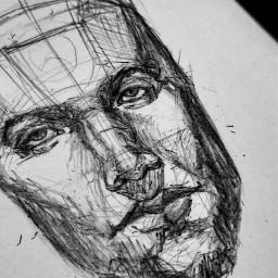 bnw drawing sketch