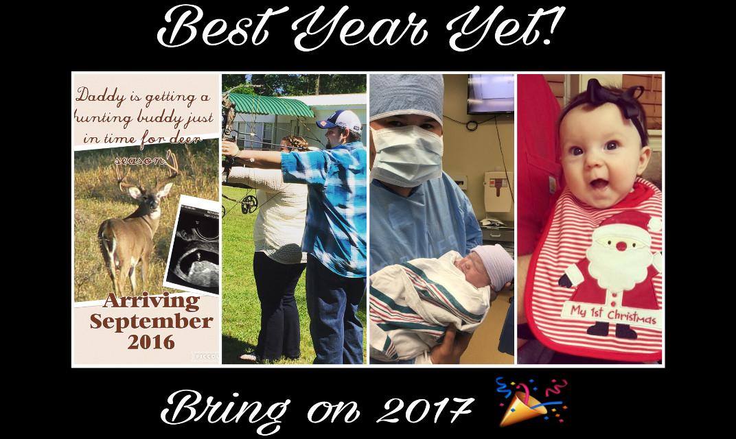 #BestYearYet #ZoeyAnn #SeptemberBaby #BringOn2017