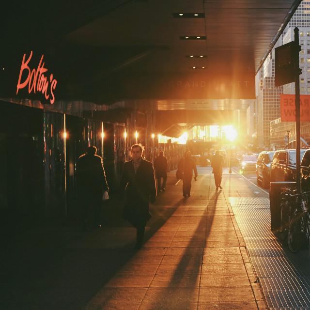 #grittystreet  #streetphotography  #manhattan  #nyc #newyork  #sunrise  #fuji #streets #2017 #color #urban #people