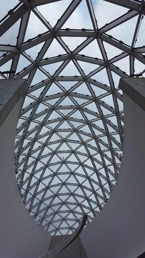 architecture museum glassceiling