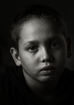 blackandwhite portrait
