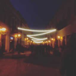 blur lights aniner city streets freetoedit