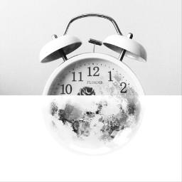 freetoedit moon clock time edited