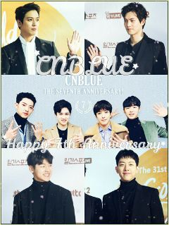 cnbluehappy7thanniversary cnblue7thanniversary 씨엔블루 cnblue yonghwa freetoedit