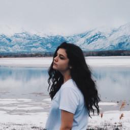 FreeToEdit ice frozenlake lake mountains blue art photography utah utahphoto