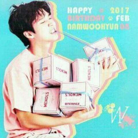 #hbd,#happynamwoohyunday,#saengilchukkaehaminda