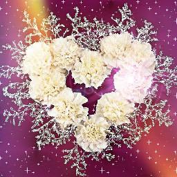 heartsandglitter love flowers freetoedit