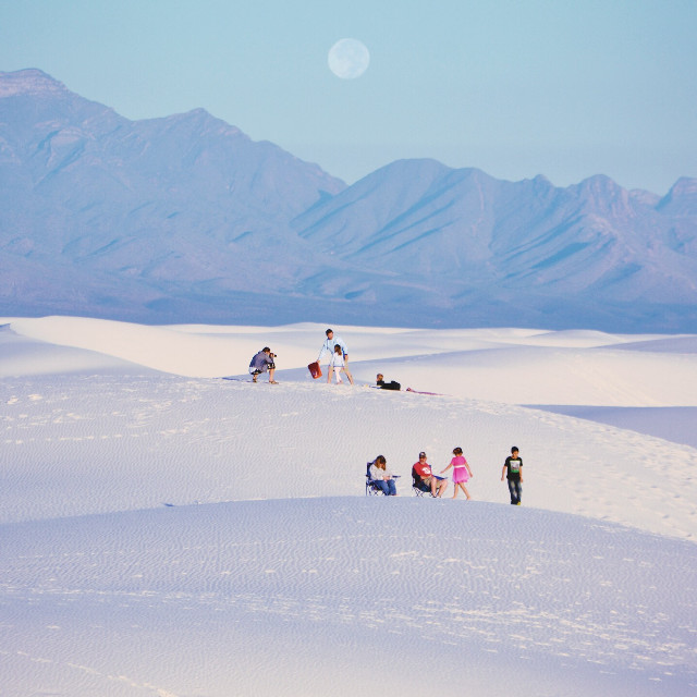#FreeToEdit White Sands National Monument in New Mexico
