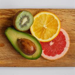 freetoedit fruits orange kiwi wooden