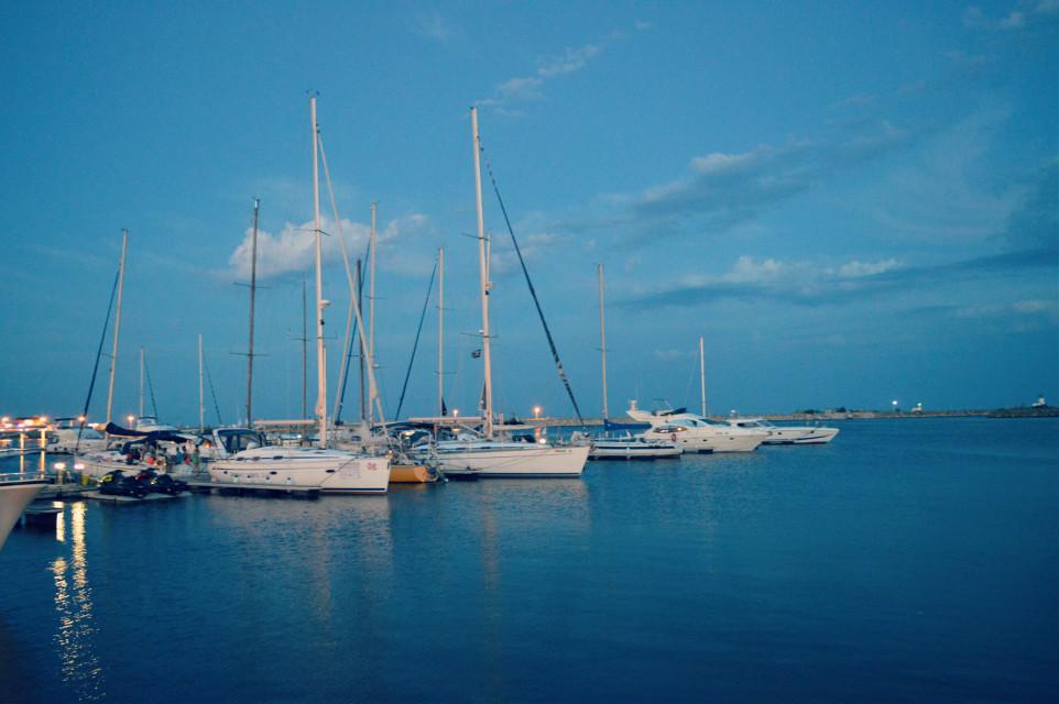 #FreeToEdit #sea #nature #shore #yacht #lightcross #blue #sky @pa @freetoedit