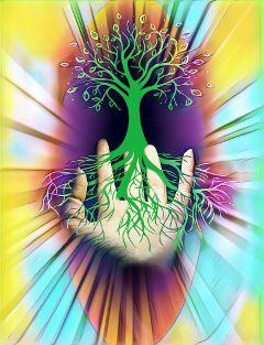 freetoedit treeoflife hand tree magiceffect