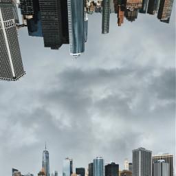 nyc newyorkcity newyork manhattan skyline freetoedit