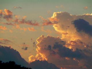 tangerinesky twilight clouds sky nature freetoedit