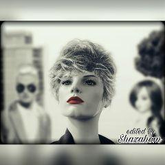 shazahom1 edited blur blackandwhite effect