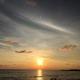 kanyakumari sunset dusk beach supernatural freetoedit