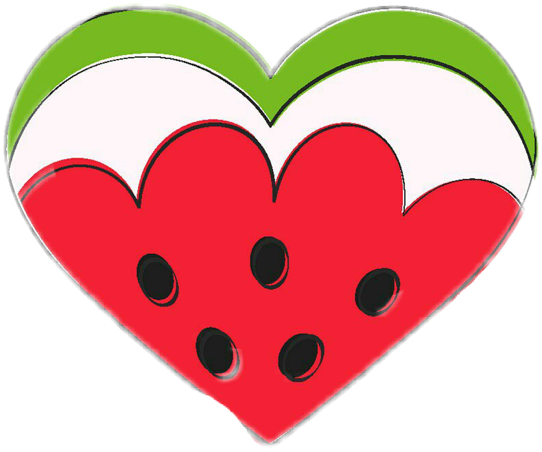 #heart #watermelon #summer