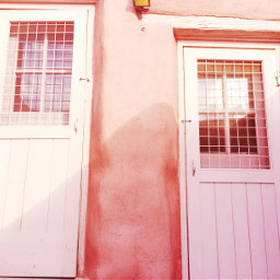 adobe doors pink freetoedit dpcdoorways dpcabandonedplaces