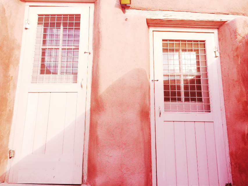 #adobe #doors #pink #FreeToEdit #dpcdoorways #dpcabandonedplaces