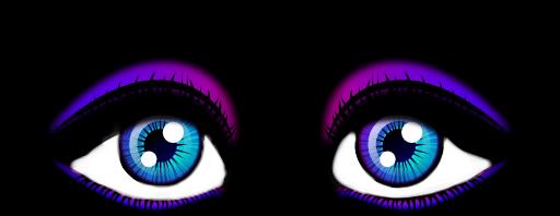 purpleblue eyes purple blue freetoedit